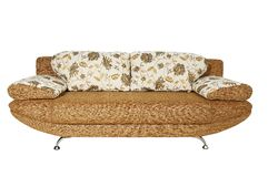 Sofa (isolated) Royalty Free Stock Photography