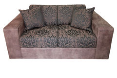 Sofa isolated Royalty Free Stock Photography