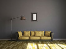 Sofa and a lamp Royalty Free Stock Photography