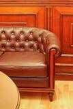Sofa leather Stock Photo