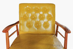 Sofa leather furniture isolated Royalty Free Stock Photography