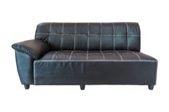 Sofa leather furniture Royalty Free Stock Image
