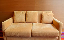 Sofa in the living room Stock Images