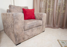 Sofa in a living room Stock Photos