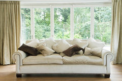 Sofa In Living Room Royalty Free Stock Images