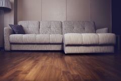 Sofa in living room, interior background Royalty Free Stock Photos
