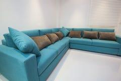 Sofa in luxury apartment Stock Image