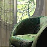 Sofa. max. Uhr 3d Lizenzfreie Stockbilder