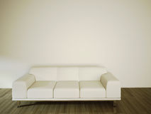 Sofa in modern comfortable interior Royalty Free Stock Images