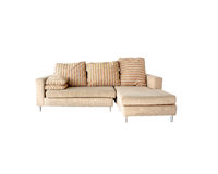 Sofa modern  furniture decor and interior Stock Image