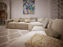 Sofa modern style Stock Images