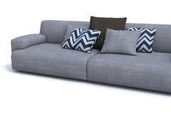 Sofa. Modern sofa on white background Stock Photo