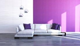 Sofa moderne illustration stock