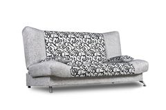 Sofa moderne d'isolement sur le blanc Images stock