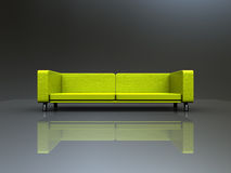 Sofa with nice background Royalty Free Stock Image