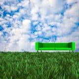 Sofa with nice background Stock Image