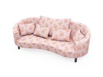 Sofa over white background Stock Image