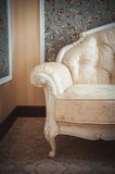 Sofa, part of the classical interior Stock Photo
