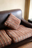 Sofa with pillow Stock Images