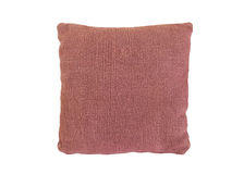 Sofa pillow with velvet cover Stock Image