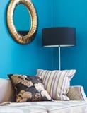 Sofa with pillows Royalty Free Stock Photo