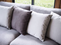 Sofa with pillows Home Interior decoration Royalty Free Stock Photography