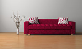 Sofa in the room Royalty Free Stock Photo