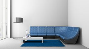 Sofa in the room Royalty Free Stock Photos