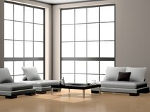 Sofa in the room Stock Image