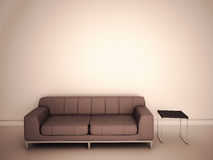 Sofa in room Stock Image