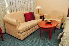 Sofa in a room royalty free stock images