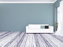 Sofa in the room, 3d stock photography