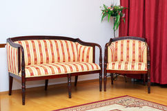Sofa in room. Inreior design Royalty Free Stock Photography
