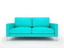 Sofa rouge moderne illustration libre de droits