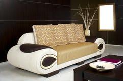 Sofa rustique Photographie stock
