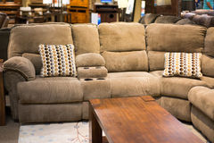 Sofa sectionnel photos stock