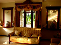 Sofa Set. A beautiful sofa set in a room Royalty Free Stock Photos