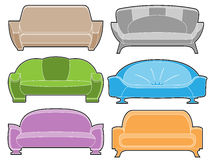 Sofa set Royalty Free Stock Photography