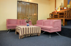Sofa set in the meeting room. Royalty Free Stock Photography