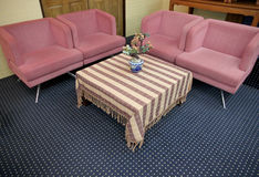 Sofa set in the meeting room. Stock Image