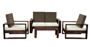 Sofa set Royalty Free Stock Images