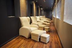 Sofa in spa room Stock Image
