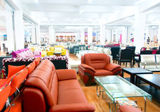 Sofa store Stock Photos