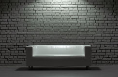 Sofa in studio Stock Photos