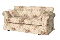 Sofa in style Provence on a white background Stock Images