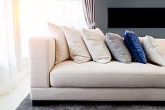 Sofa in sunny day Stock Photo