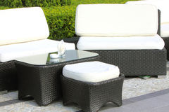 Sofa & Table Royalty Free Stock Photo