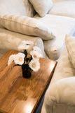 Sofa and tea table Stock Photo