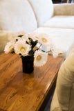 Sofa and tea table Stock Photos