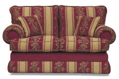 Sofa. Traditional English sofa Circa 1980 Royalty Free Stock Photos